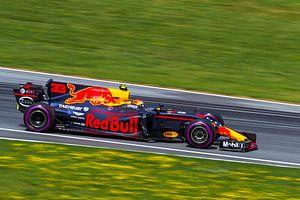Max Verstappen in actie tijdens de Grand-Prix van Oostenrijk 2017