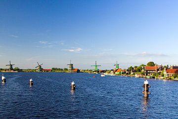 Zaanse Schans panorama van Fleksheks Fotografie