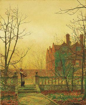 Autumn Gold, John Atkinson Grimshaw sur