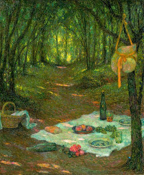 A Break in the Woods, Gerberoy, Henri Le Sidaner van Meesterlijcke Meesters
