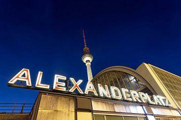 Berlijn Alexanderplatz van Frank Herrmann