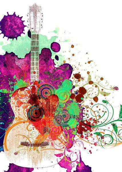 Guitar van Peter Baak