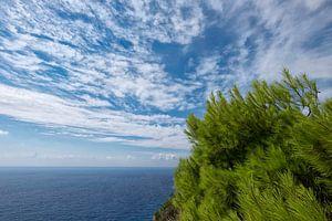 Wolkenlucht bij Vromi