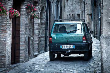 Fiat Panda in steeg