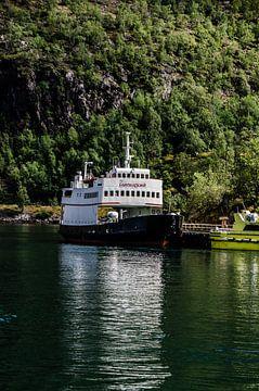 boot in het noorseFlåm van