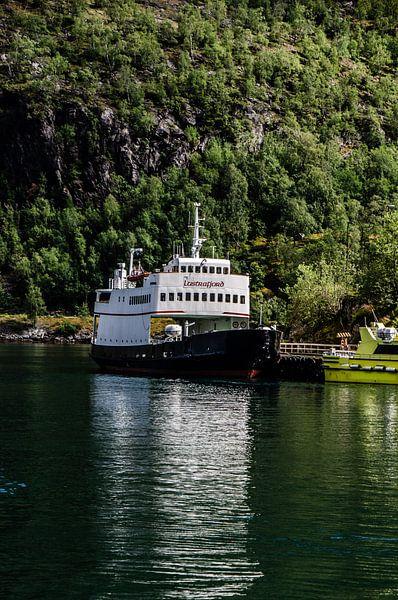 boot in het noorseFlåm van max van dijk