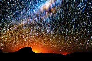 Nachthemel Madagaskar von Dennis van de Water