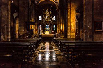 Kerk in Maastricht van Willy Sybesma
