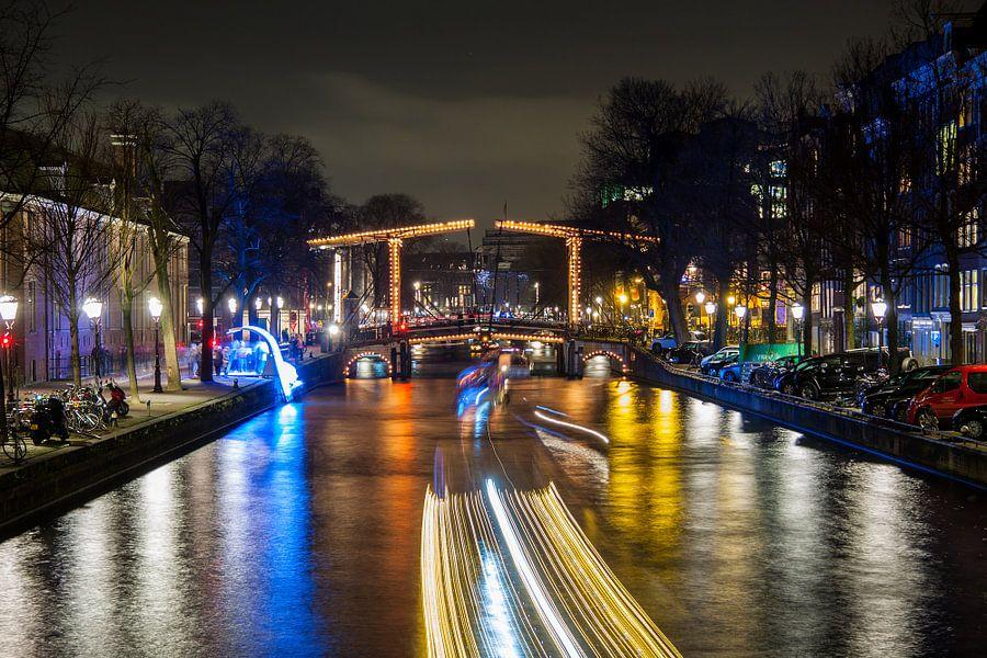 Amsterdamse grachten van Archiebald Photography