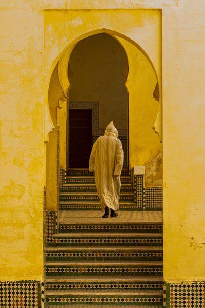 Nejjarine moskee in Meknes van Koen Henderickx