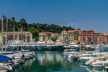 Hafen von Nizza von Easycopters