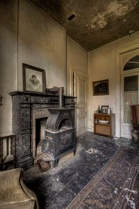 Urbex oude achterkamer