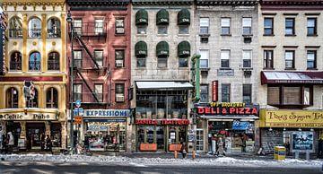 Een koude dag in NY, Peter Pfeiffer van 1x