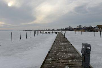 Aanmeren in de bevroren Oostzee van Alphapics