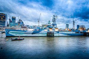 HMS. Belvast van