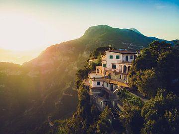 Amalfiküste Berge von Teun de Witte