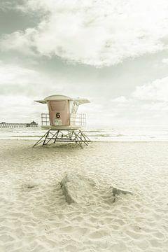 CALIFORNIA Imperial Beach | Vintage van Melanie Viola