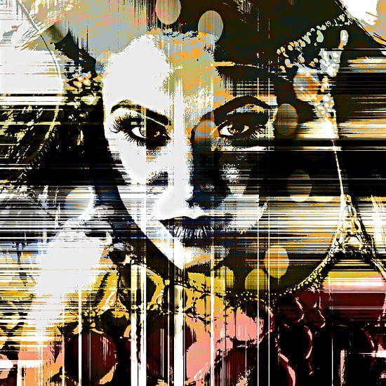 The lined face von PictureWork - Digital artist