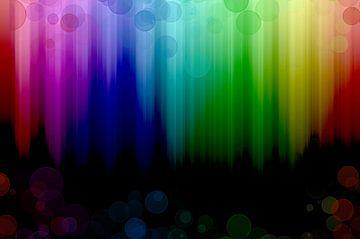 rainbow falls von Patricia Verbruggen