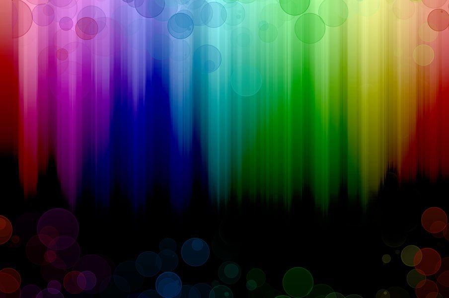 rainbow falls van Patricia Verbruggen