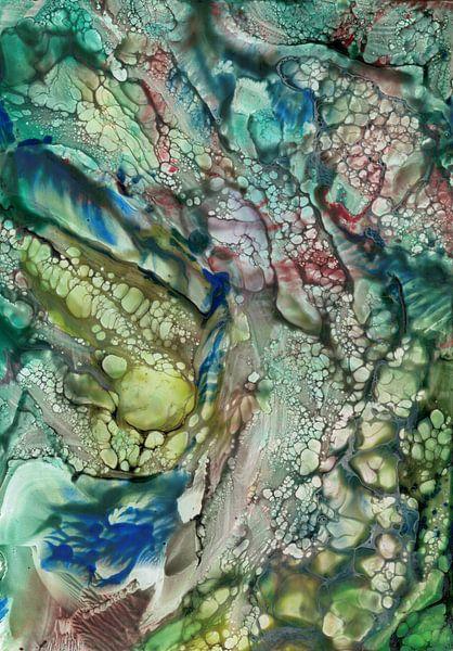 Organische waterwereld van Bethina de Reus
