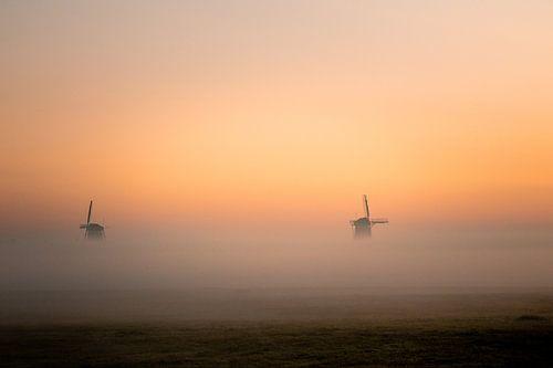 2 van de 3 Stompwijkse molens