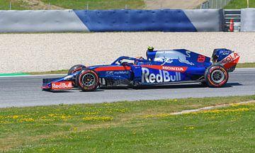 Alexander Albon au Toro Rosso lors du GP d'Autriche sur Remco Van Daalen