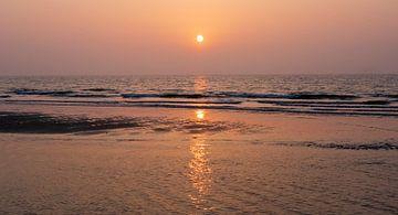 zonsondergang strand van Karin vanBijleveltFotografie