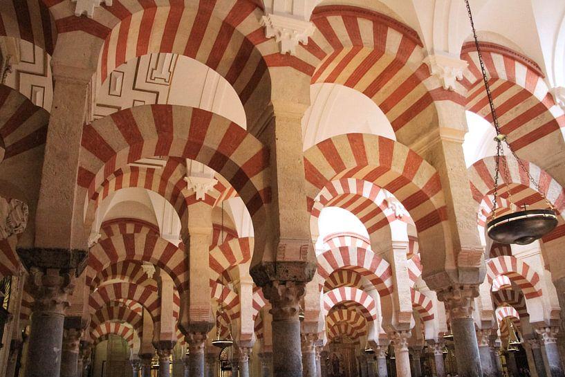 Mezquita moskee in Cordoba van Gert-Jan Siesling