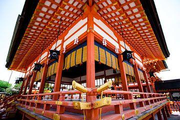 Tempel in Kyoto - Japan. von M. Beun