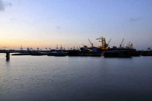 Haven Waalhaven Zuid te Rotterdam