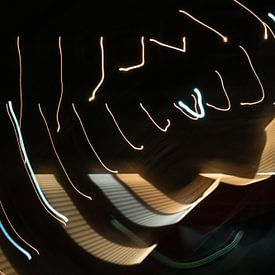 Licht gekrabbel van Peter Schütte