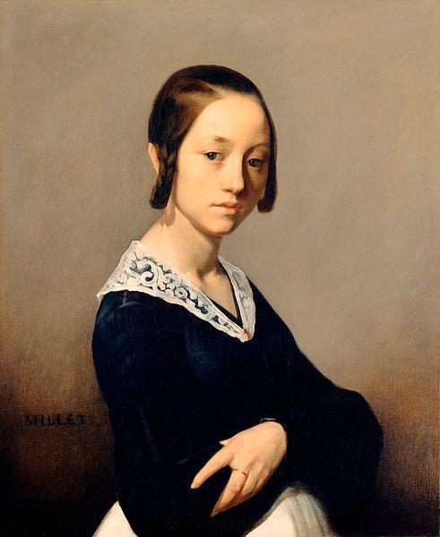 Louise-Antoinette Feuardent, Jean-François Millet von Meesterlijcke Meesters
