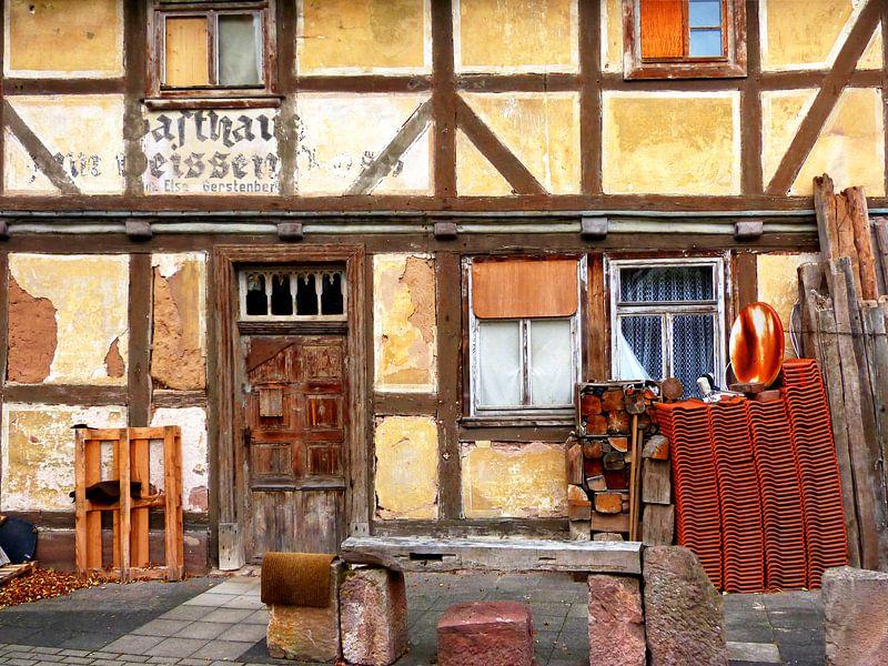 Altes Haus von Caroline Lichthart