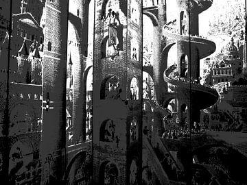 Turm über alle, Lille von Wouter Springer