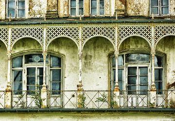 verfallene Villa in Heiligendamm an der Ostsee von Jessica Berendsen