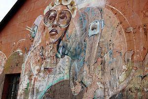 Streetart Kaapstad Zuid Afrika