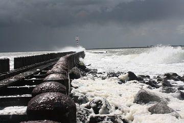 Zee Storm  van Luuk de Wit