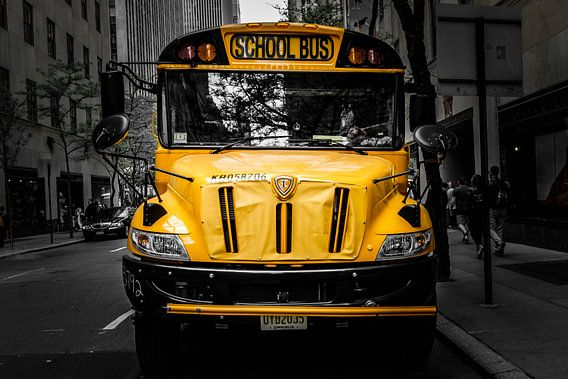 School Bus, New York City