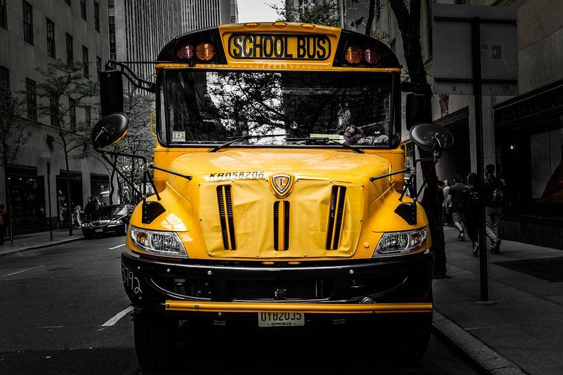 School Bus, New York City van Eddy Westdijk