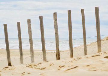 Het strand in Zandvoort van Wendy Tellier - Vastenhouw