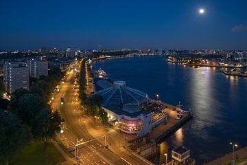 Het Maasboulevard en Tropicana in Rotterdam van MS Fotografie | Marc van der Stelt