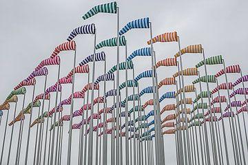 kleurige windhanen, vlaggen van DroomGans