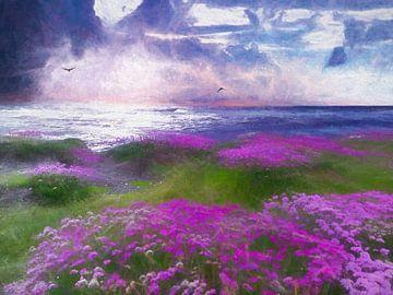 La mer (Pastell) sur Andreas Wemmje