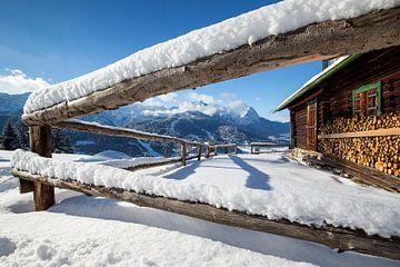 Winter an der Eckenhütte von Andreas Müller