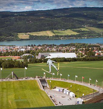 Lillehammer in Noorwegen van Hamperium Photography