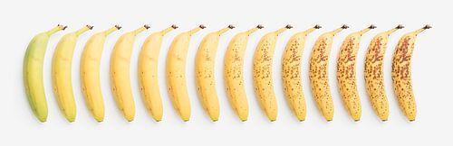 Banaan: van groen tot rijp