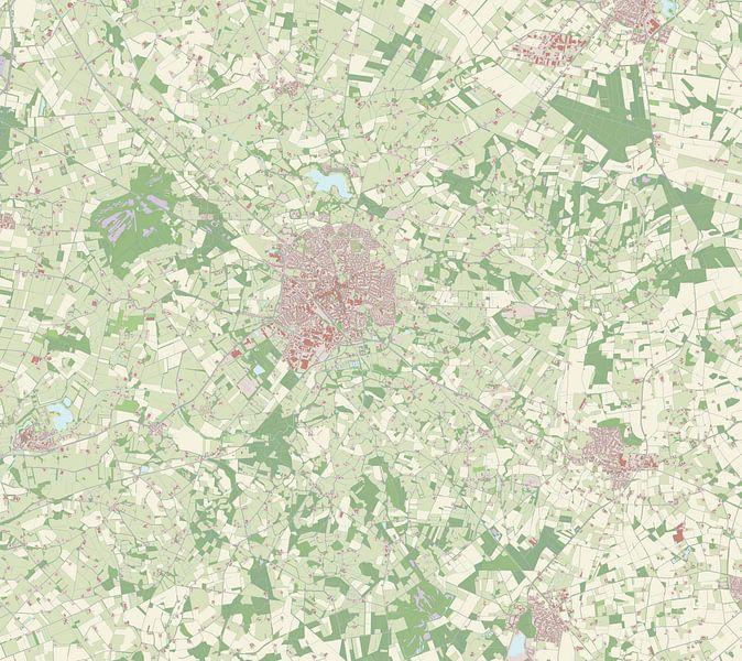 Kaart vanWinterswijk van Rebel Ontwerp