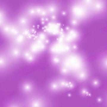 Abstraktes violettes Aquarell von Maurice Dawson