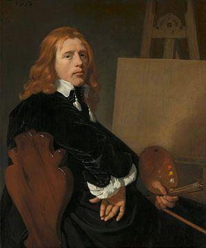 Portret van Paulus Potter, Bartholomeus van der Helst